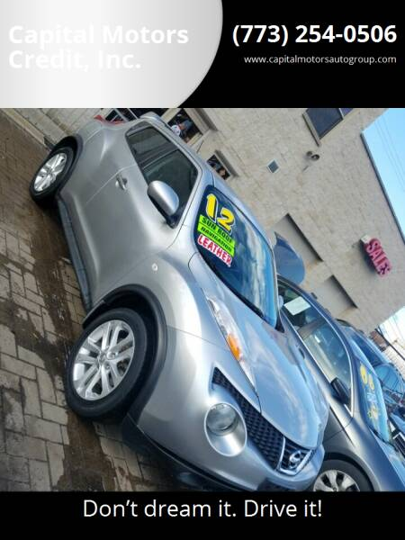 2012 Nissan JUKE for sale at Capital Motors Credit, Inc. in Chicago IL