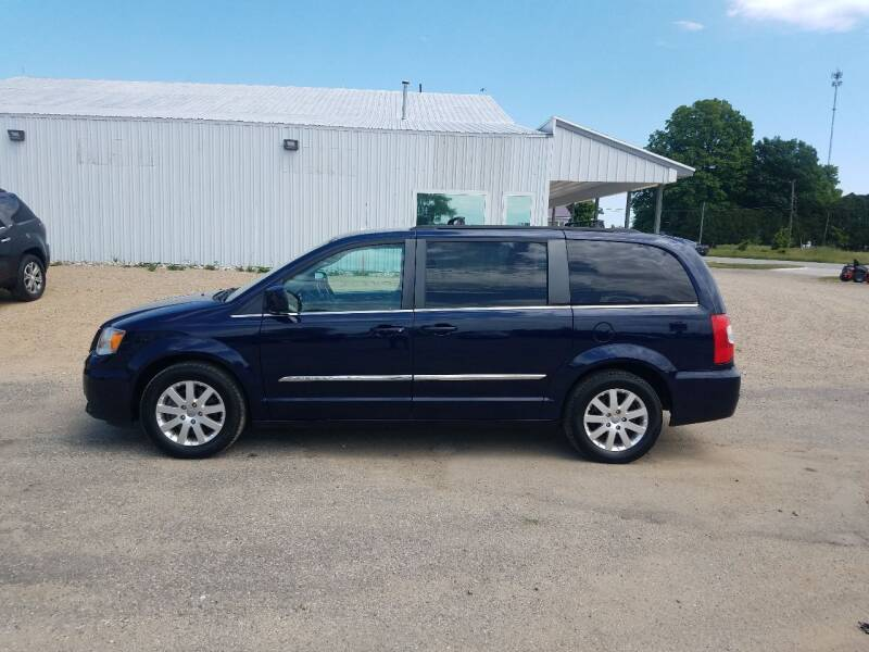 2016 Chrysler Town and Country for sale at Steve Winnie Auto Sales in Edmore MI