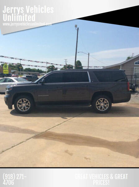 2015 Chevrolet Suburban for sale at Jerrys Vehicles Unlimited in Okemah OK