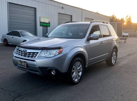 2012 Subaru Forester for sale at DASH AUTO SALES LLC in Salem OR