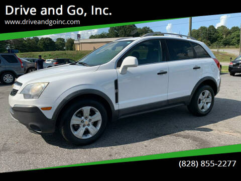 2013 Chevrolet Captiva Sport for sale at Drive and Go, Inc. in Hickory NC