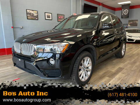 2017 BMW X3 for sale at Bos Auto Inc in Quincy MA