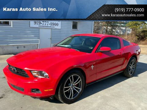 2010 Ford Mustang for sale at Karas Auto Sales Inc. in Sanford NC