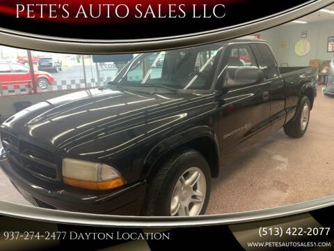 2001 Dodge Dakota for sale at PETE'S AUTO SALES LLC - Dayton in Dayton OH