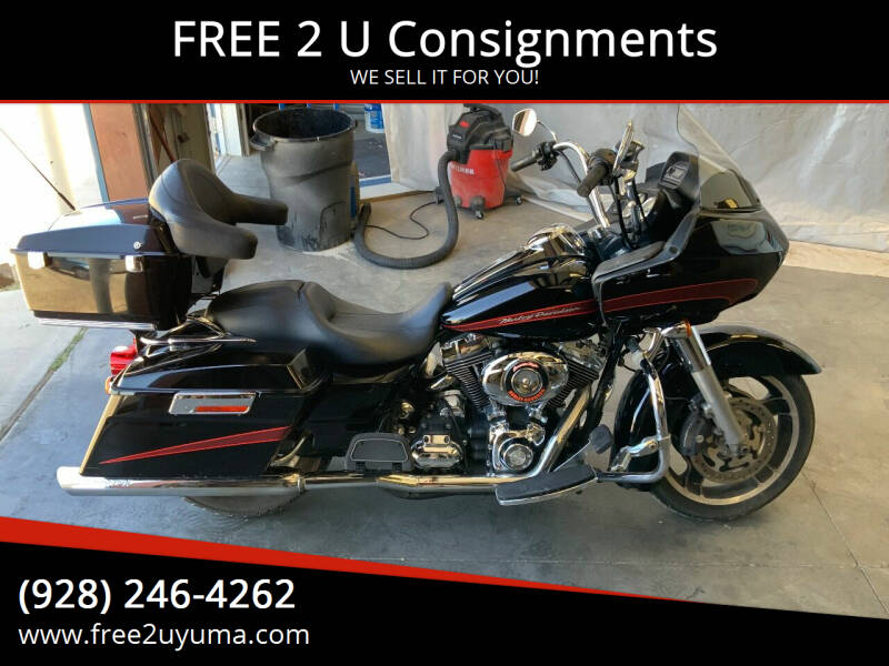 2008 Harley-Davidson Road Glide for sale at FREE 2 U Consignments in Yuma AZ