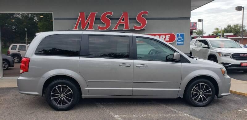 2016 Dodge Grand Caravan for sale at MSAS AUTO SALES in Grand Island NE