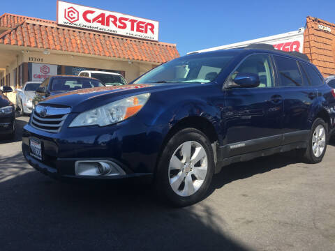 2011 Subaru Outback for sale at CARSTER in Huntington Beach CA