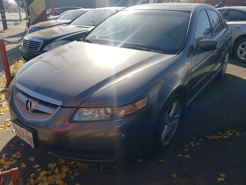 2006 Acura TL for sale at MCHENRY AUTO SALES in Modesto CA