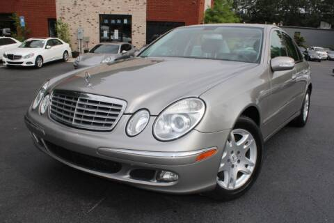 2006 Mercedes-Benz E-Class for sale at Atlanta Unique Auto Sales in Norcross GA