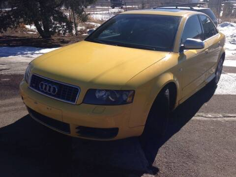 2005 Audi S4 for sale at Cherry Motors in Castle Rock CO