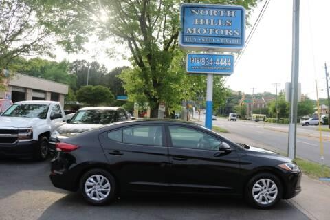 2017 Hyundai Elantra for sale at North Hills Motors in Raleigh NC