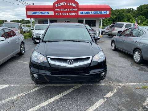 2009 Acura RDX for sale at Sandy Lane Auto Sales and Repair in Warwick RI