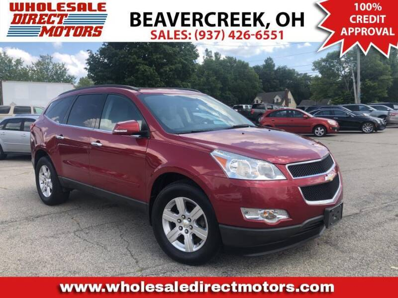 2012 Chevrolet Traverse for sale at WHOLESALE DIRECT MOTORS in Beavercreek OH