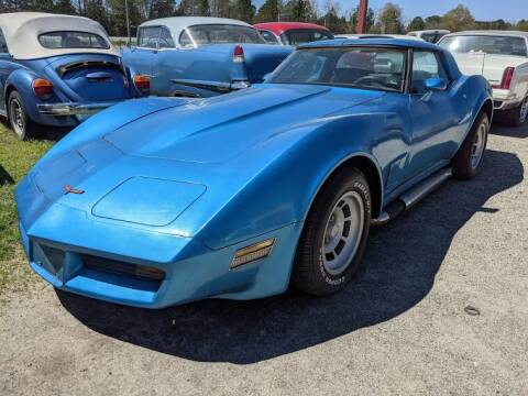 1980 Chevrolet Corvette for sale at Classic Cars of South Carolina in Gray Court SC