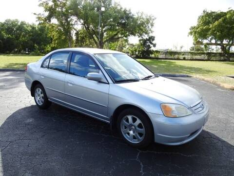 2002 Honda Civic for sale at SUPER DEAL MOTORS 441 in Hollywood FL
