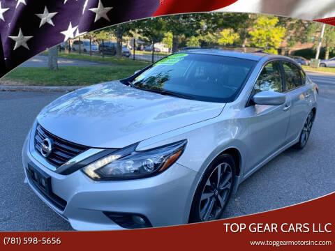 2016 Nissan Altima for sale at Top Gear Cars LLC in Lynn MA