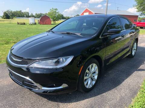 2015 Chrysler 200 for sale at Champion Motorcars in Springdale AR