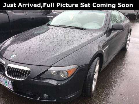 2005 BMW 6 Series for sale at Royal Moore Custom Finance in Hillsboro OR