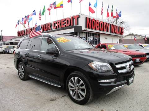 2014 Mercedes-Benz GL-Class for sale at Giant Auto Mart 2 in Houston TX