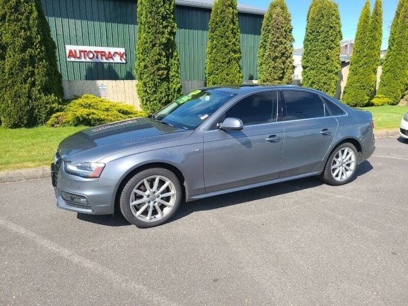 2014 Audi A4 for sale at AUTOTRACK INC in Mount Vernon WA