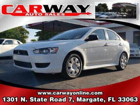 2010 Mitsubishi Lancer for sale at CARWAY Auto Sales in Margate FL