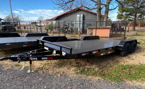 """2021 HD Trailer 83""""x20' 3500lb Axles for sale at TINKER MOTOR COMPANY in Indianola OK"""