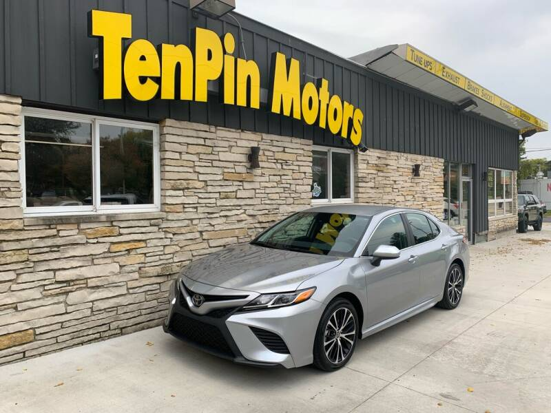 2020 Toyota Camry for sale at TenPin Motors LLC in Fort Atkinson WI