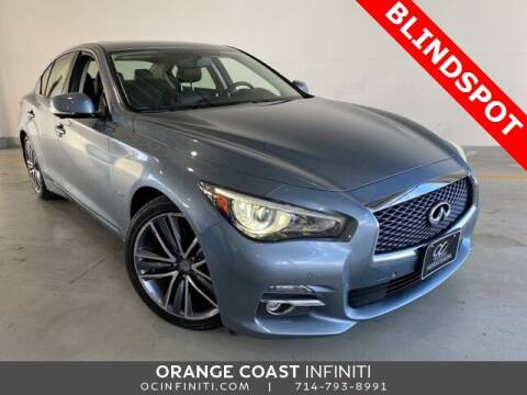 2017 Infiniti Q50 Hybrid for sale at ORANGE COAST CARS in Westminster CA
