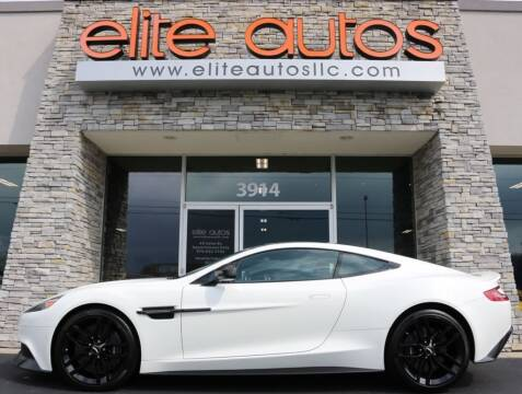 2016 Aston Martin Vanquish for sale at Elite Autos LLC in Jonesboro AR