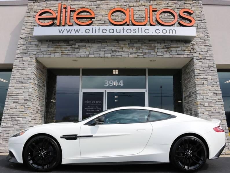 2016 Aston Martin Vanquish for sale at Elite Autos LLC in Jonesboro AR