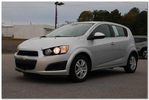 2013 Chevrolet Sonic for sale at WHITE MOTORS INC in Roanoke Rapids NC