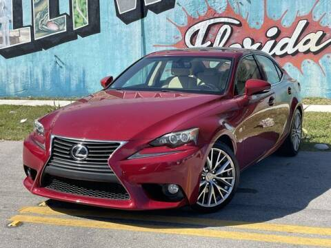 2014 Lexus IS 250 for sale at Palermo Motors in Hollywood FL
