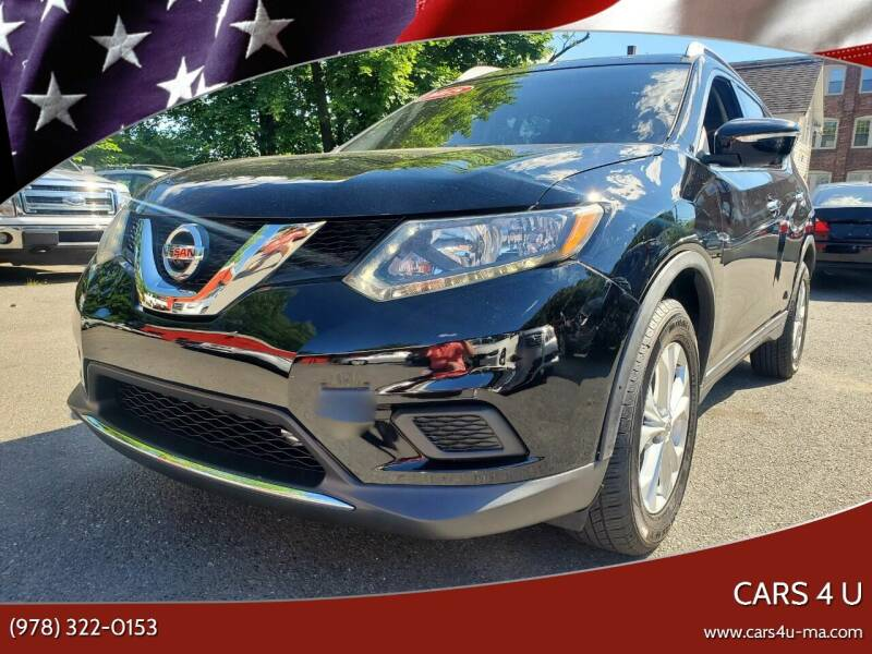 2016 Nissan Rogue for sale at Cars 4 U in Haverhill MA