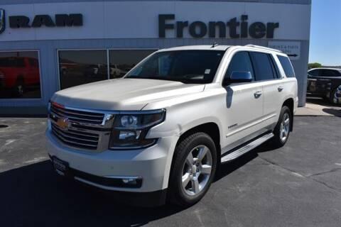 2015 Chevrolet Tahoe for sale at Frontier Motors Automotive, Inc. in Winner SD