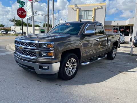 2015 Chevrolet Silverado 1500 for sale at Global Auto Sales USA in Miami FL