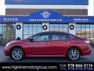 2014 Nissan Sentra for sale at Highline Group Motorsports in Lowell MA