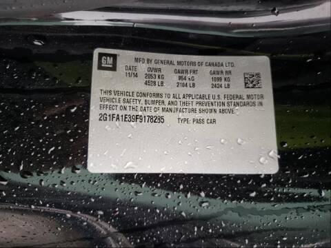 2015 Chevrolet Camaro for sale at Ragins' Dynamic Auto LLC in Brookland AR