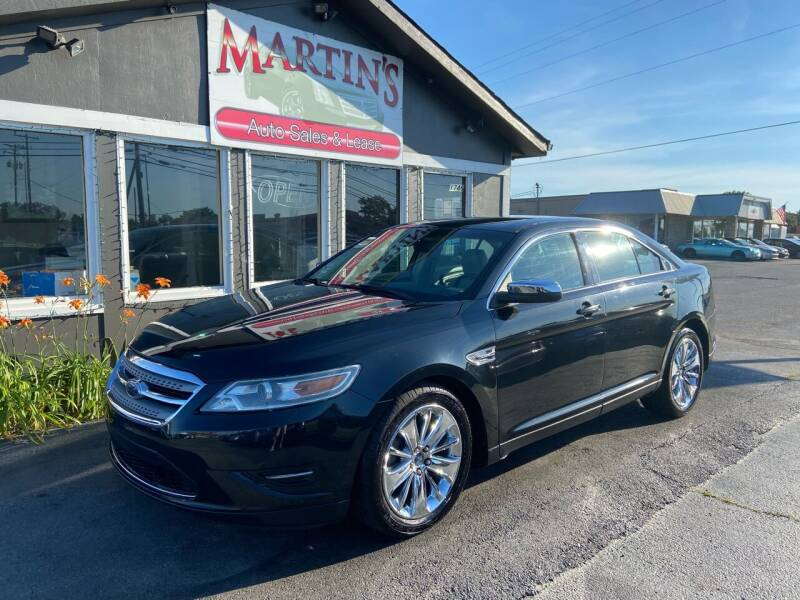 2010 Ford Taurus for sale at Martins Auto Sales in Shelbyville KY