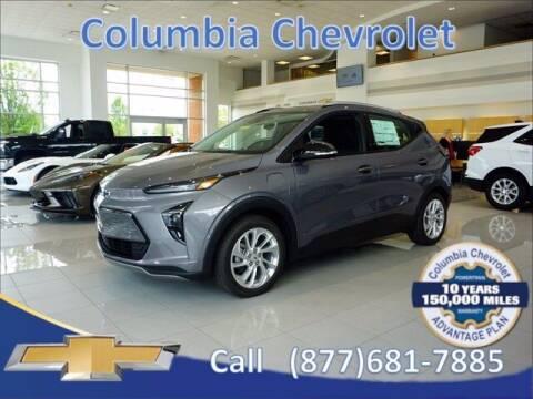 2022 Chevrolet Bolt EUV for sale at COLUMBIA CHEVROLET in Cincinnati OH