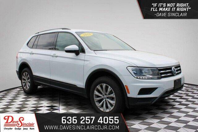2018 Volkswagen Tiguan for sale at Dave Sinclair Chrysler Dodge Jeep Ram in Pacific MO