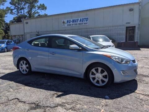 2012 Hyundai Elantra for sale at Nu-Way Auto Ocean Springs in Ocean Springs MS