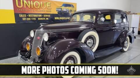 1937 Studebaker Dictator for sale at UNIQUE SPECIALTY & CLASSICS in Mankato MN