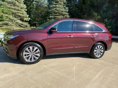 2014 Acura MDX for sale at Encore Auto in Niles MI