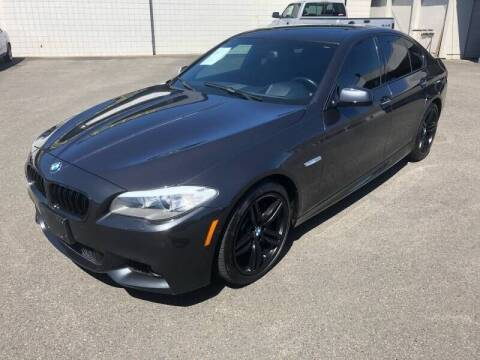 2013 BMW 5 Series for sale at TacomaAutoLoans.com in Tacoma WA