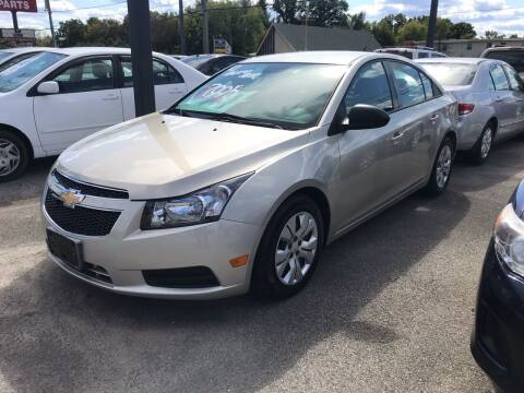 2013 Chevrolet Cruze for sale at 4th Street Auto in Louisville KY
