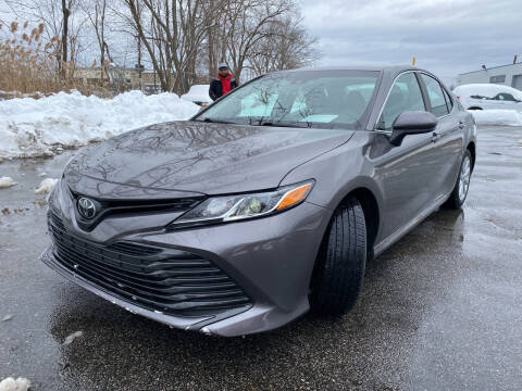 2018 Toyota Camry for sale at JerseyMotorsInc.com in Teterboro NJ