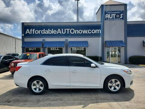 2016 Chevrolet Malibu Limited for sale at Affordable Autos in Houma LA