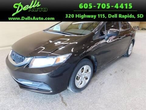 2014 Honda CIVIC SEDA for sale at Dells Auto in Dell Rapids SD