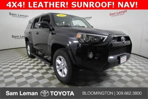 2018 Toyota 4Runner for sale at Sam Leman Toyota Bloomington in Bloomington IL