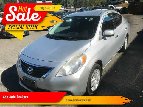 2012 Nissan Versa for sale at Ace Auto Brokers in Charlotte NC